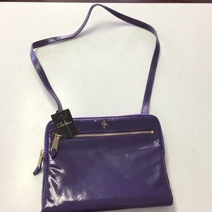 NWT Cole Haan purple patent leather